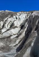 Crevasses, Gorner Glacier, Zermatt, Valais, Switzerland