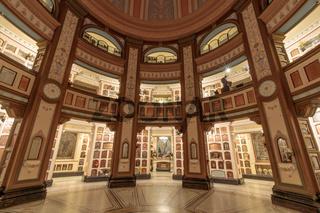 San Francisco, California - June 5, 2018: Interior of San Francisco Columbarium.
