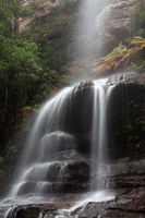 Blue Mountains waterfall called Witches Leap