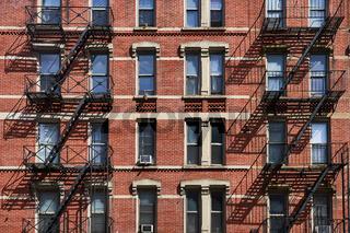 Feuerleitern in New York City