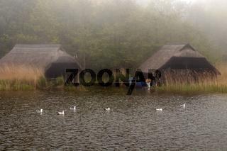 Haeuser 001. Fischland Darss Zingst. Deutschland