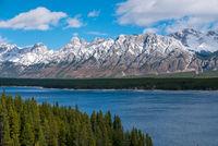 Lower Kananaskis Lake in Peter Lougheed Provincial Park, Alberta