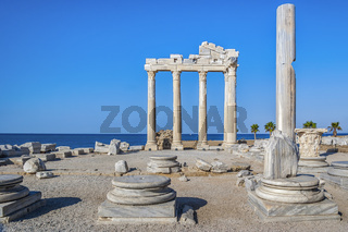 Temple Of Apollo At Side Turkey