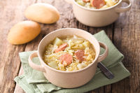 Cabbage, Potato and Sausage Stew
