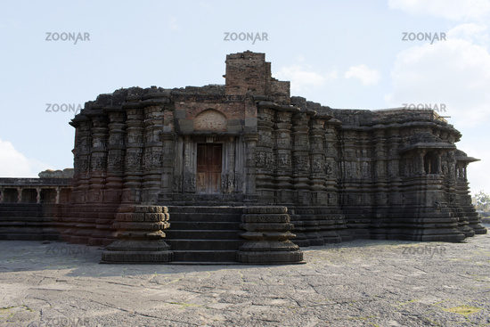 Front View, Daitya Sudan temple front side, Lonar, Buldhana District, Maharashtra, India