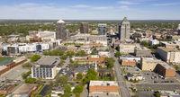 Greensboro North Carolina Downtown City Skyline Urban Core
