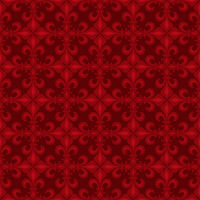 Lace-de-Luce (Lace of Lilies), Red seamless pattern