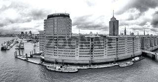 Hafencity Hamburg Panorama SW