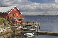 Boat hut on Ertvagoy