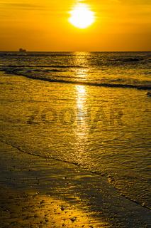 Delightful sunset