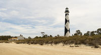 Cape Lookout Lighthouse Core Banks South Carolina Waterfront
