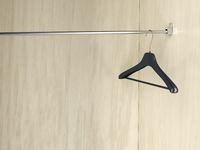 Empty coat hanger
