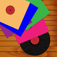 A collection of phonograph records
