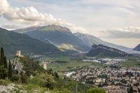 Burg von Arco im Trentino Italien
