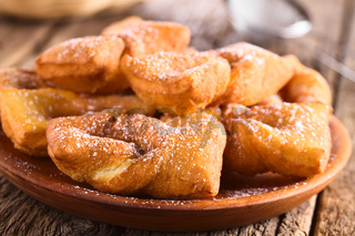 Chilean Sweet Calzones Rotos Fried Pastries