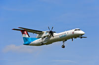 Luxair, De Havilland Canada DHC-8-400, LX-LGG, Luxembourg
