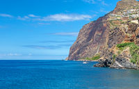 Southern coast of the island of Madeira near Camara de Lobos