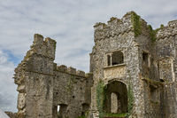 Carew Castle in Pembrokeshire, Wales, England, UK