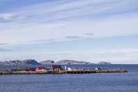 Harbor pier in Sandviksberget