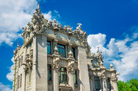 Famous House with Chimaeras in Kiev, Ukraine