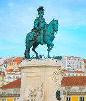 equestrian statue King Jose Lisbon
