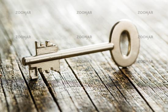 One safe key.