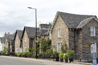 Residential houses in Pitlochry in Scotland