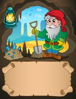 Small parchment and dwarf miner 2