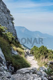 Path on Kampenwand