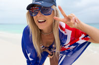 Holiday Vibes, Happy Australia Day, Aussie Fan Supporter