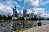 look at the city of Frankfurt