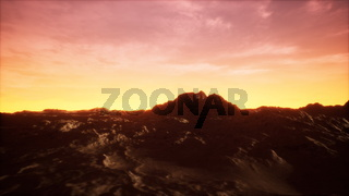 Sunset at the Rocky Valley