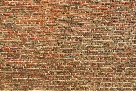 Alte Wand aus Ziegelsteinen als Hintergrund Textur