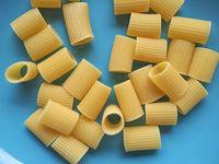 rigatoni pasta food background