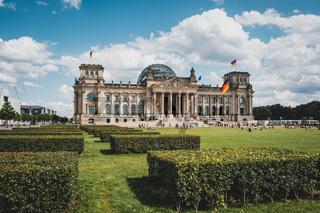 The Reichstag building ( German Bundestag ) in Berlin ,Germany