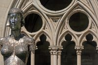 Art, Cathedral St. Etienne, Toul, Lorraine, France