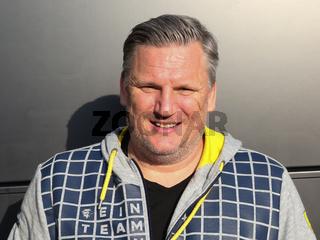 Cheftrainer Nicolaj Jacobsen (Rhein-Neckar Löwen) DKB Handball Bundesliga Saison 2018/2019