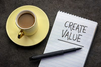 create value handwriting