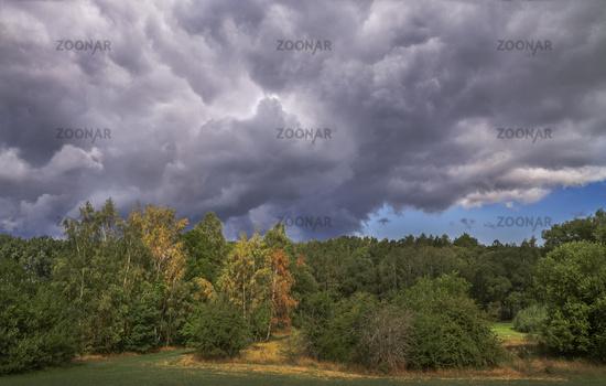 Landscape near Rehau Upper Franconia