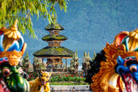 Ulun Danu Beratan temple smallest shrine in Bali