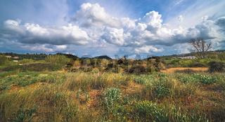 Panoramic view of the Zante landscape
