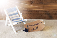 Summer Sunny Label, Sommerzeit Means Summertime, Holiday Feeling