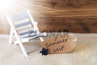 Summer Sunny Label, Sommerzeit Means Summertime, Holiday Feeling