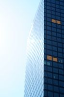 Skyscraper corner