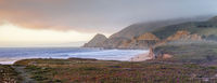 Panoramic Views from Montara State Beach Bluffs.