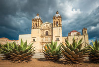 Church of Santo Domingo de Guzman in Oaxaca, Mexico