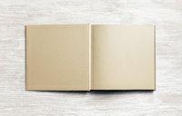 Craft paper brochure