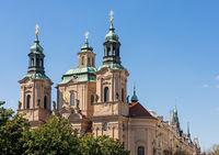 Church of Saint Nicholas in Prague