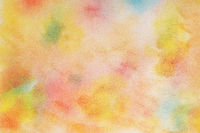 multicolored watercolor background on paper texture