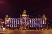 BUDAPEST, HUNGARY - DECEMBER 26, 2016: Famous hotel Gellert on December 26, 2016 in Budapest, Hungary